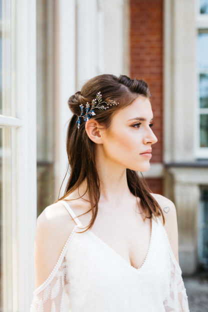 ozdoba d włosów na ślub, biżuteria ślubna